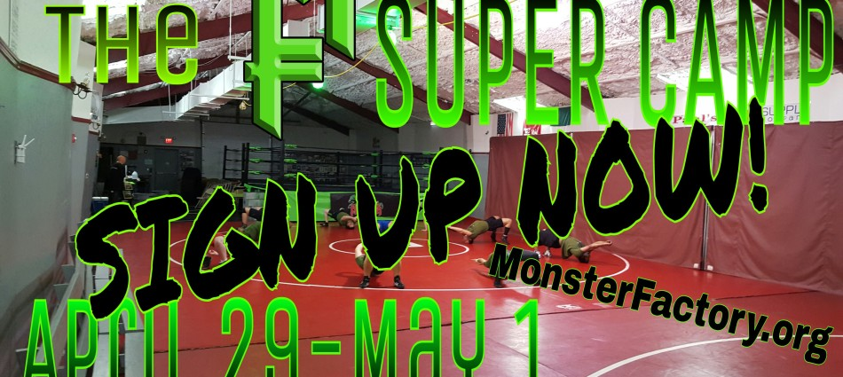 A camp like no other. Time to train for the future. For your career! The MF Super Camp! Enroll now!