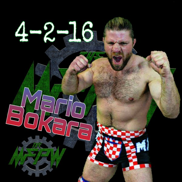 What a way to debut! Mario Bokara will be taking the spot of the suspended Anthony Bennett in The MFPW Cup Tournament!