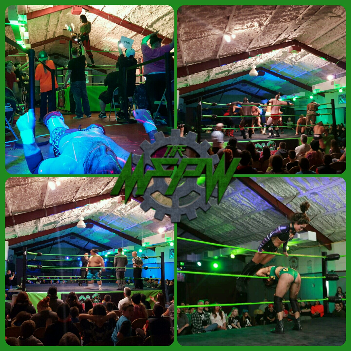 The MFPW returns to The MFPW Arena located in The WOrld Famous Monster Factory in Paulsboro, New Jersey with Fan Appreciation Night! All tickets purchased online are half off!