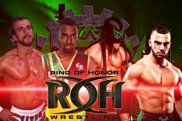 Team ROH looks to make a statement against The MFPW team! Rhett Titus, Cheeseburger, Deliririous, & Will Ferera claim to be up to the challenge!