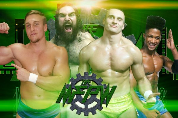 The MFPW team consists of Cody Vance, Nick Comoroto, Clutch Adams, and Anthony Bennett! They have agreed to put their differences aside to take on Team ROH at Turkey Slam 2016!