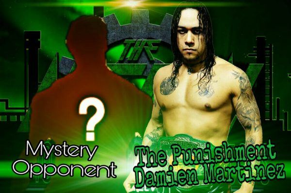 Damien Martinez defends The MFPW Heavyweight Championship against a mystery opponent at Turkey Slam 2016!